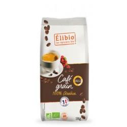 Café 100% arabica grain 1kg