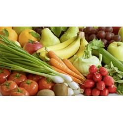 Panier de légumes et de fruits