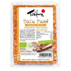 Tofu fumé amandes et sésame